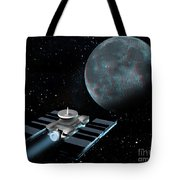 Space Exploration, Moon, Illustration Tote Bag