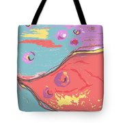 Space Fish Tote Bag