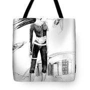 Space Girl 5000 Tote Bag