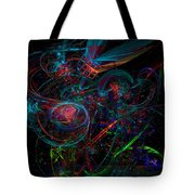 Space Junk Mental Energy From Earth Tote Bag