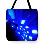 Space Mountain Blast Off Tote Bag