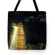 Space Needle And Aurora Bridge Tote Bag