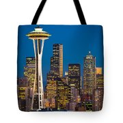 Space Needle Evening Tote Bag