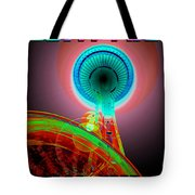 Space Needle Poster Work A Tote Bag
