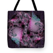 Space Snowball Tote Bag