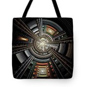 Space Station Tote Bag