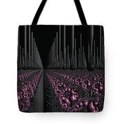 Space Station Garden 3d Fractal Tote Bag