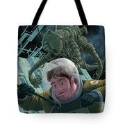Space Station Monster Tote Bag