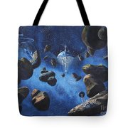 Space Station Outpost Twelve Tote Bag