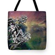 Space Walk Pod Tote Bag