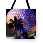 Spaceship Earth Tote Bag