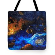Spaceship Titanic Tote Bag
