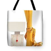 Spaghetti And Scale Tote Bag