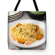Spaghetti With Sea Food Tote Bag