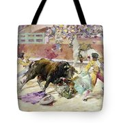 Spain - Bullfight C1900 Tote Bag