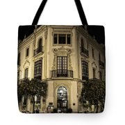Spain At Night Tote Bag