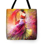 Spain - Flamencoscape 12 Tote Bag