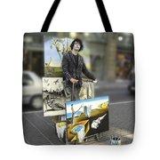 Painter In Spain Series 23 Tote Bag