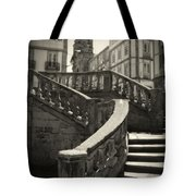 Plaza Stairs In Spain Series 24 Tote Bag