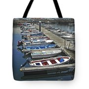Row Boats In Spain Series 27 Tote Bag