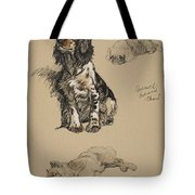 Spaniel, Pekinese And Chow, 1930 Tote Bag