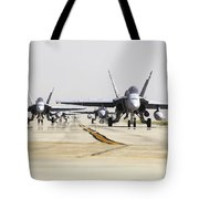 Spanish Air Force Ef-18m Hornets Tote Bag