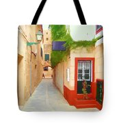 Spanish Alleyway Tote Bag
