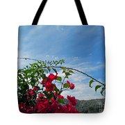 Spanish Bougainvillea Tote Bag