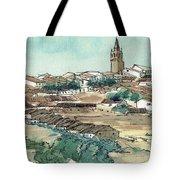 Spanish Church Tower Tote Bag