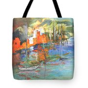 Spanish Harbour 02 Tote Bag