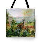 Spanish Landscape Tote Bag