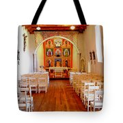 Spanish Mission Church New Mexico Tote Bag