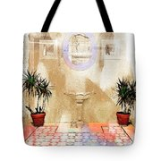 Spanish Patio 03 Tote Bag