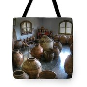 Spanish Pottery Shop Tote Bag
