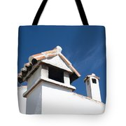 Spanish Rooftops Tote Bag by Anne Gilbert