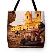 Spanish Steps Tote Bag
