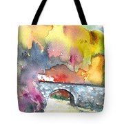 Spanish Village By The River 01 Tote Bag