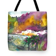 Spanish Village By The River 02 Tote Bag