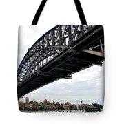 Spanning Sydney Harbour Tote Bag by Kaye Menner
