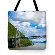 Spanning The Hudson River Tote Bag