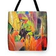 Spark Of Passion Tote Bag