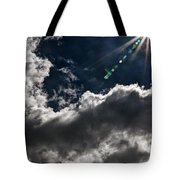 Sparkle From Above Tote Bag
