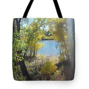 Sparkle Lake Tote Bag