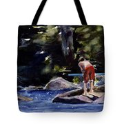 Sparkle Lake Tote Bag