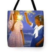 Sparkler Duet Tote Bag