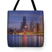 Sparkling Chicago  Tote Bag
