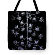 Sparkling Diamond Snowflakes Tote Bag