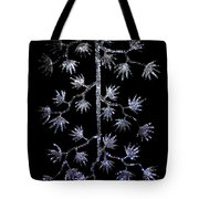 Sparkling Diamond Snowflakes Tote Bag