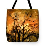 Sparkling Stars Light The Sky Tote Bag