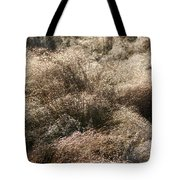 Sparkling Grasses Tote Bag